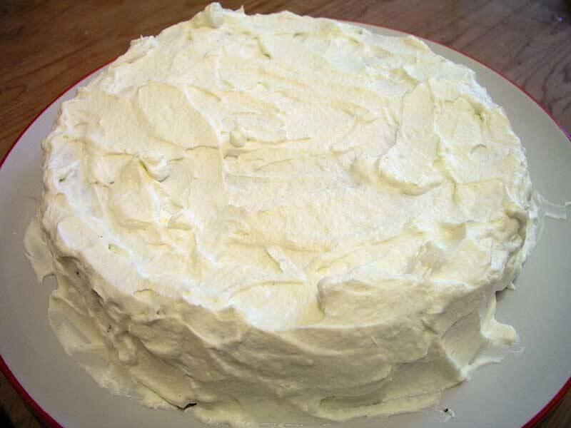 как приготовить торт с белковым кремом