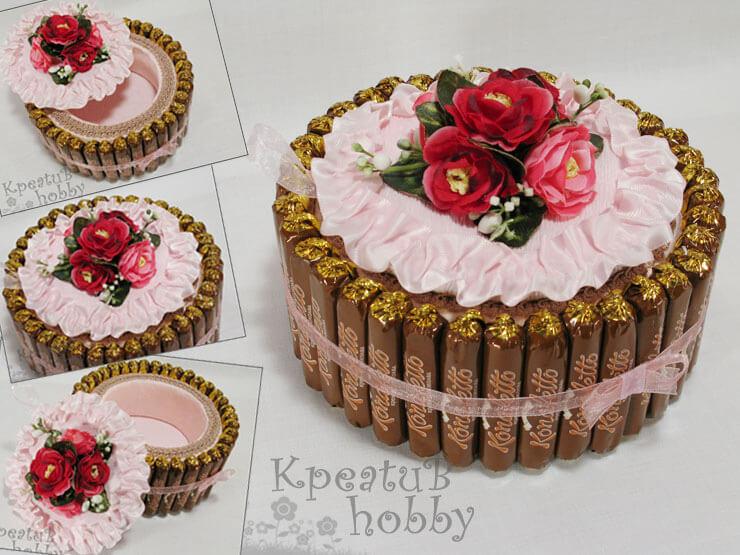Идеи украшения тортов шоколадом макарунами и конфетами