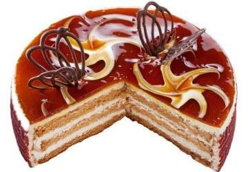 украшение тортов карамелью11
