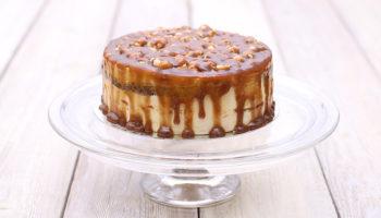 украшение тортов карамелью4