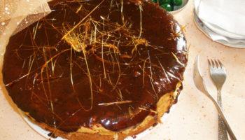 украшение тортов карамелью6