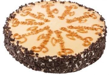 украшение тортов карамелью8
