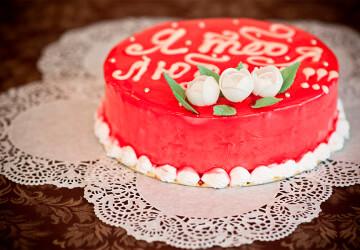 Надпись из шоколада для торта своими руками
