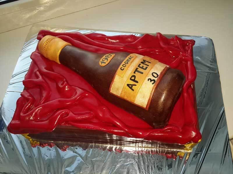 Бисквиты для торта в домашних условиях шоколадный 223