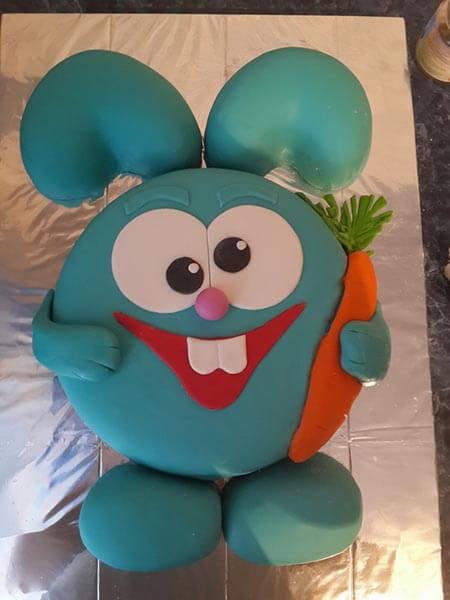 Торт на детский день рождения в домашних условиях 51
