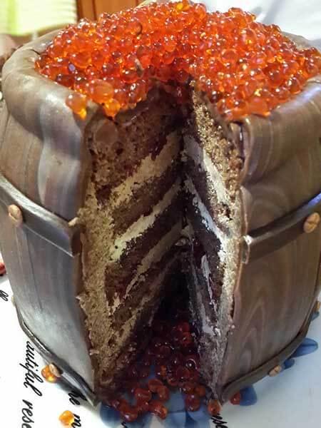 Бисквитный торт мастер класс