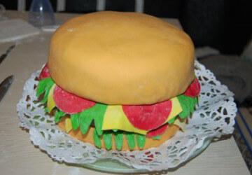 9 закрываем наш гамбургер