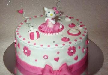 Торт ребенку на 4 года своими руками