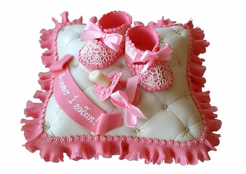 Торт для дочки на годик своими руками