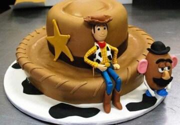 детский торт с человечком