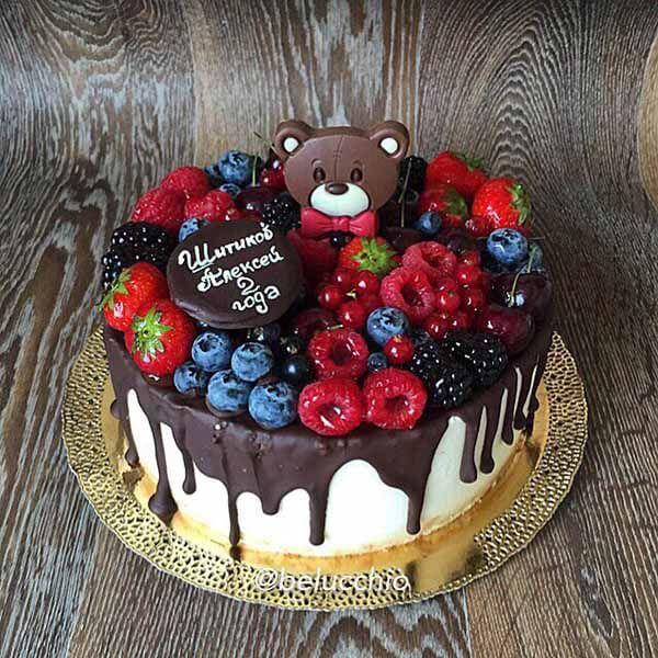 Детский торт своими руками с фото