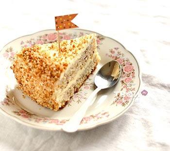 медовый банановый торт