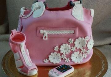 торт сумка для девочек