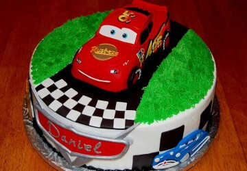 торт тачки для день рождения