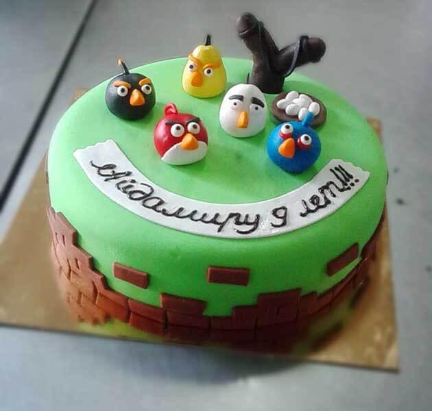 Angry Birds и Тачки / Детские Торты / el-pancho - Эль