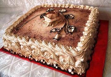 Украсить торт для мужчины в домашних условиях 154