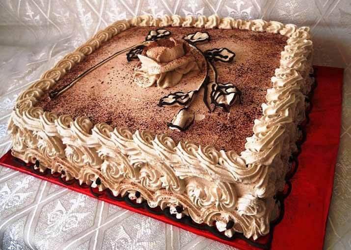 Фото-рецепт торт для мужчин