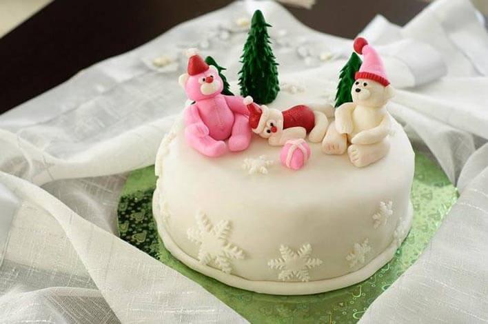 Украшаем торты
