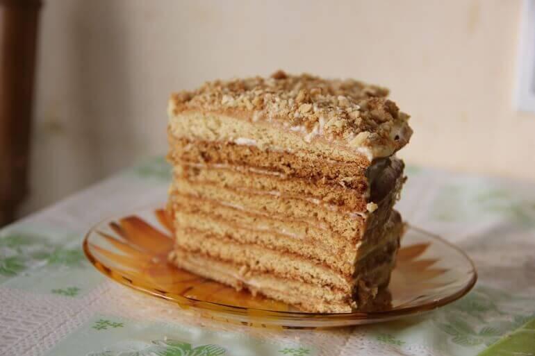 Торт рыжик рецепт в домашних условиях