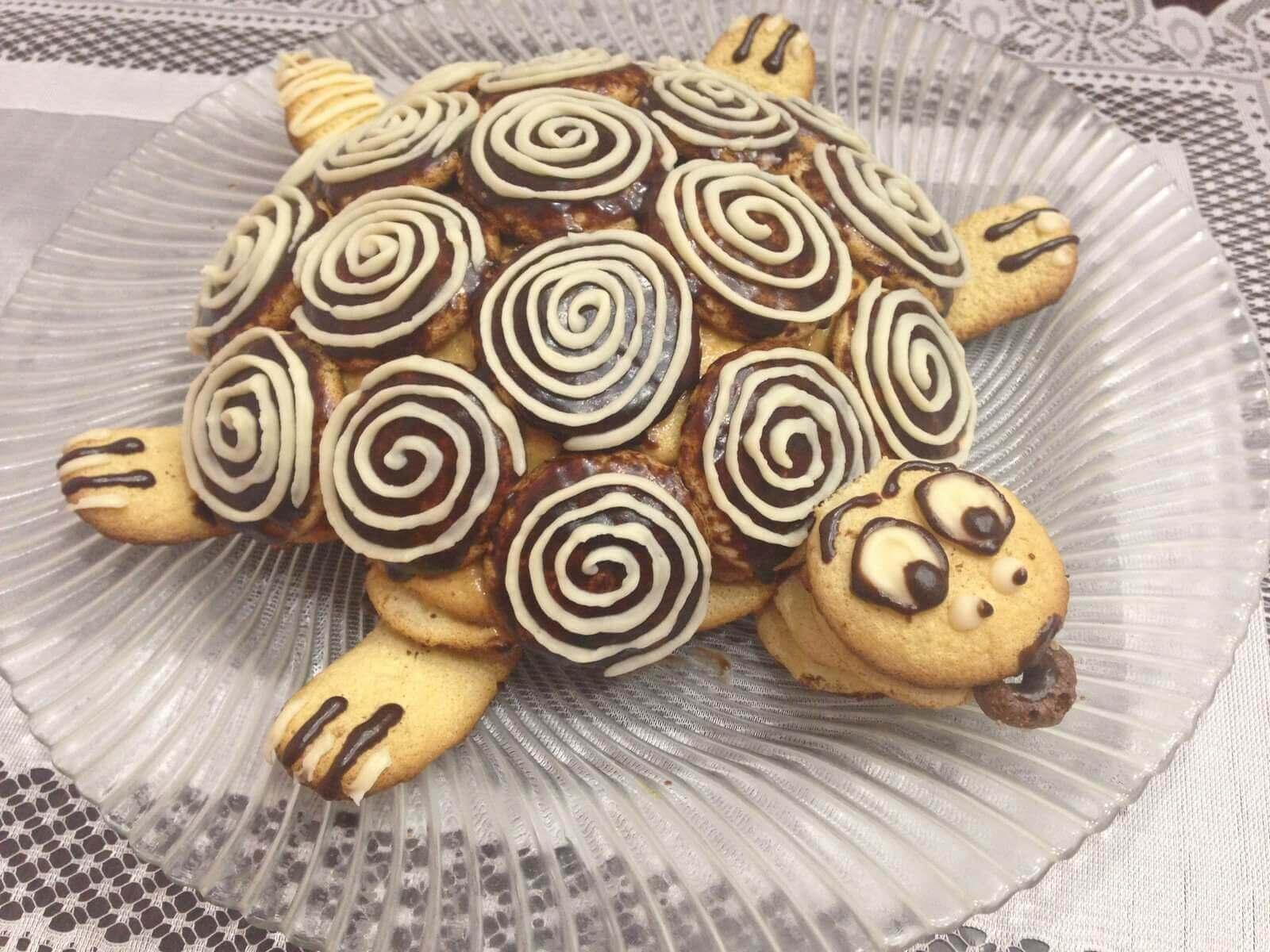 торт черепаха
