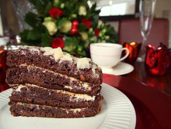 черемуховый торт на кефире
