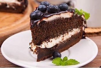 черемуховый торт сливочный