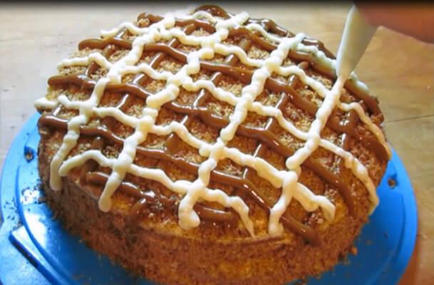 Торт коровка рецепт с фото