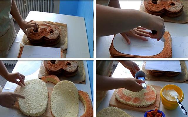 Торт на юбилей своими руками