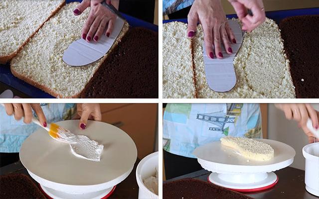 Как сделать из мастики кеды