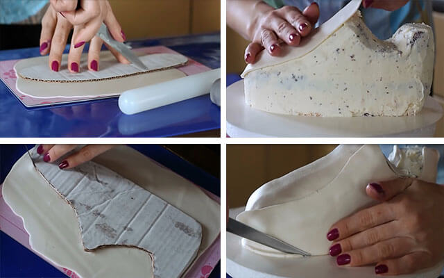 Как сделать кроссовки для мастика 563