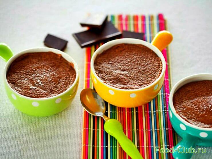 шоколадный пудинг рецепт в микроволновке венский кондитер