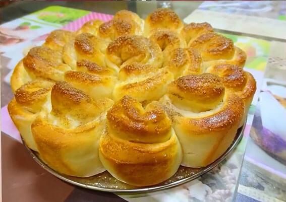 Тесто для булочек на сухих дрожжах