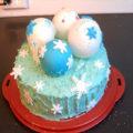 Новогодний торт «Елочные шарики»
