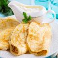 Рецепты вкусных постных блинов