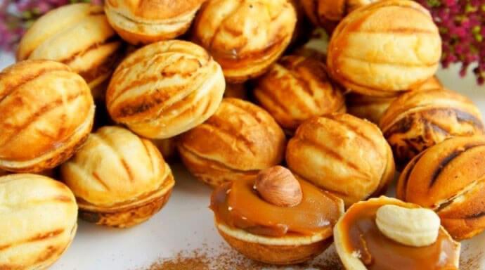 орешки со сгущенкой рецепт как в детстве