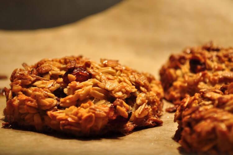 рецепт овсяного печенья без сливочного масла