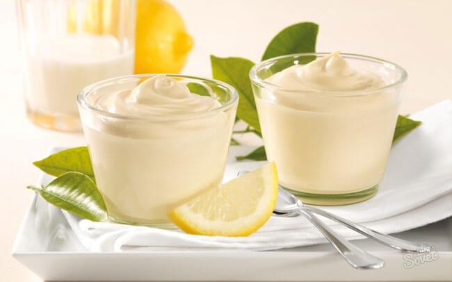 Рецепт торта с лимонным кремом