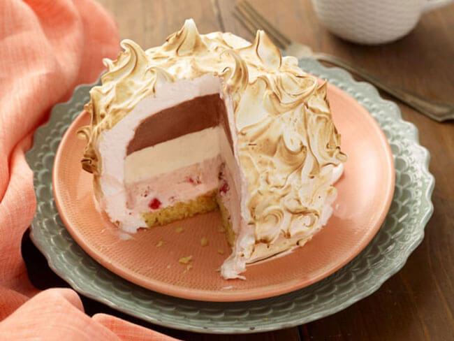 Как сделать торт мороженое в домашних условиях