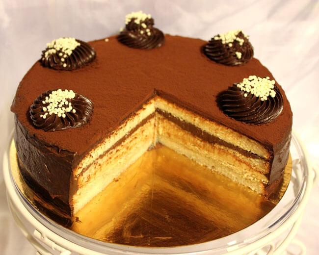 торт золотой ключик рецепт из белого бисквита