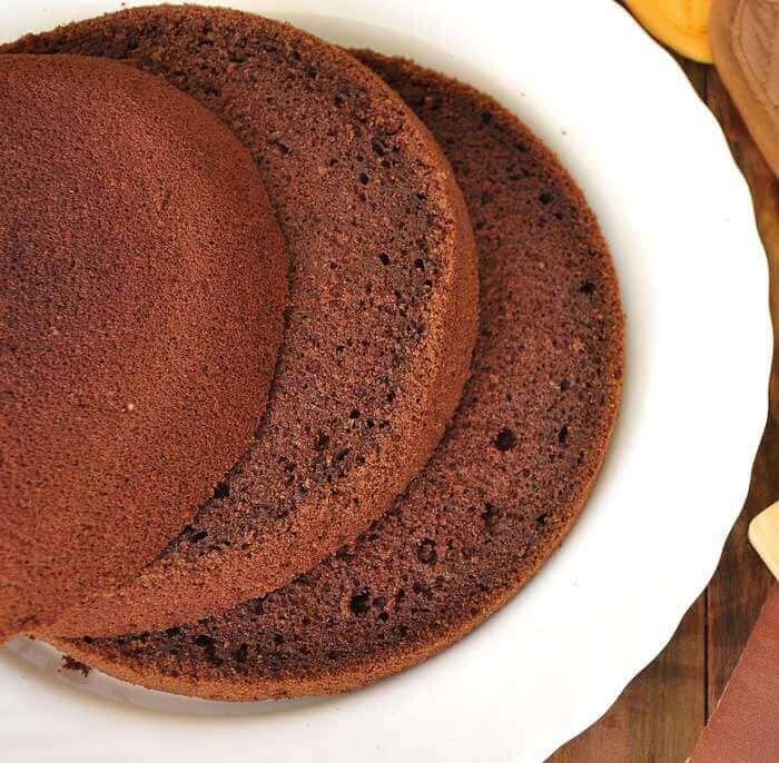 Бисквит с какао в мультиварке