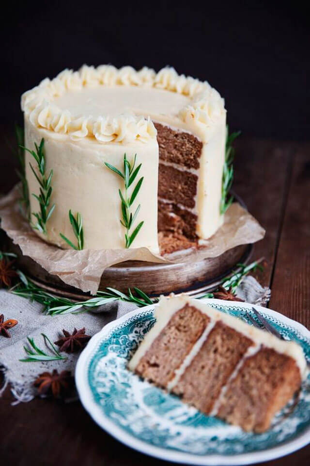 Украшения торта в домашних условиях масляным кремом 94