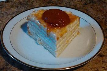 вафельный торт со сметаной