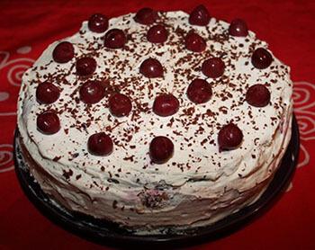 вишня для бисквитного торта