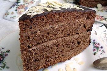 классический пражский торт