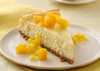 творожно-ананасовый торт