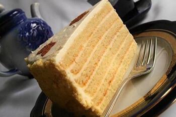 легкий медовый торт