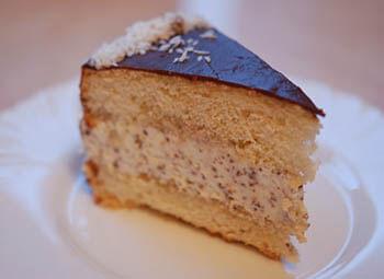 торт бисквитный с маскарпоне