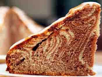 торт «Зебра» в домашних условиях
