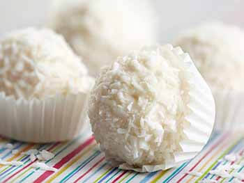 белоснежное кокосовое рафаэлло