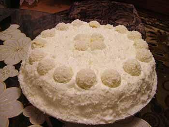 торт рафаэлло бисквитно-вафельный